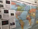 Карта мира с очагами интолерантности